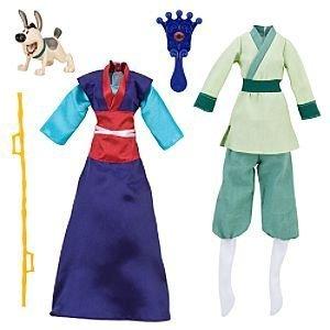 ムーラン 花木蘭 ディズニープリンセス Disney Mulan Accessories Set -- 5-Pc.ムーラン 花木蘭 ディズニープリンセス