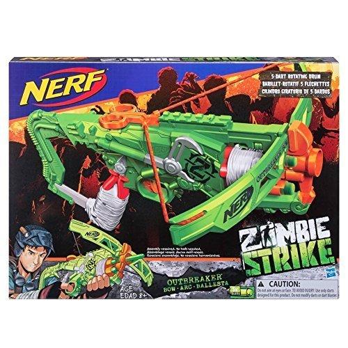ナーフ ゾンビストライク アメリカ 直輸入 ソフトダーツ Hasbro Nerf Zombie Strike Outbreaker Battle Bowナーフ ゾンビストライク アメリカ 直輸入 ソフトダーツ
