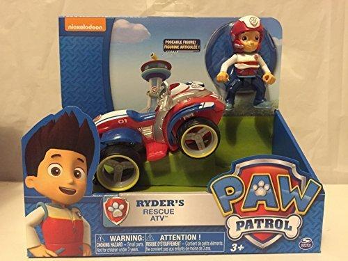 パウパトロール アメリカ直輸入 英語 バイリンガル育児 おもちゃ Nickelodeon, Paw Patrol - Ryder's Rescue ATV and Nickelodeon, Paw Patrol - Action Pack Pup & Badge - Chaseパウパトロール アメリカ直輸入 英語 バイリンガル育児 おもちゃ