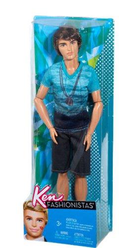 バービー バービー人形 ケン Ken T4893 -BEACH KEN FASHIONISTA HOTTIE DOLL WITH BEACH WEAR - HOT!バービー バービー人形 ケン Ken T4893 -BEACH