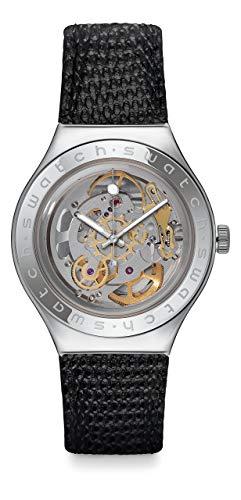 スウォッチ 腕時計 メンズ YAS100D 【送料無料】Swatch Women's Analogue Quartz Watch with Leather Strap YAS100Dスウォッチ 腕時計 メンズ YAS100D