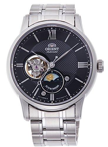 無料ラッピングでプレゼントや贈り物にも 逆輸入並行輸入送料込 腕時計 オリエント メンズ RN-AS0001B 送料無料 ORIENT Skeleton Semi 受賞店 Classic Sun Men's腕時計 Moon マーケット Watch Mechanical