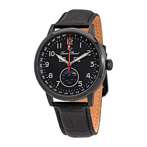 ルシアンピカール 腕時計 メンズ 【送料無料】Lucien Piccard Complete Calendar Black Dial Men's Watch 40016-BB-01ルシアンピカール 腕時計 メンズ