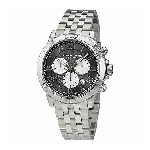 レイモンドウィル 腕時計 メンズ スイスの高級腕時計 8560-ST-00606 Raymond Weil Men's Tango Quartz Watch with Stainless-Steel Strap, Silver, 20 (Model: 8560-ST-00606)レイモンドウィル 腕時計 メンズ スイスの高級腕時計 8560-ST-00606