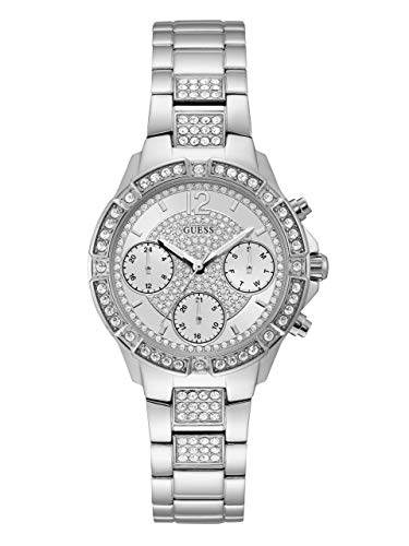 ゲス GUESS 腕時計 レディース U1071L1 【送料無料】GUESS Women's Stainless Steel Crystal Watch, Color: Silver-Tone (Model: U1071L1)ゲス GUESS 腕時計 レディース U1071L1