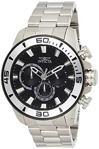 インヴィクタ インビクタ プロダイバー 腕時計 メンズ 22585 【送料無料】Invicta Men's Pro Diver Analog-Quartz Watch with Stainless-Steel Strap, Silver, 10 (Model: 22585)インヴィクタ インビクタ プロダイバー 腕時計 メンズ 22585