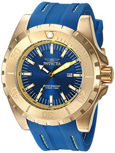 インヴィクタ インビクタ プロダイバー 腕時計 メンズ 23736 【送料無料】Invicta Men's Pro Diver Stainless Steel Quartz Watch with Polyurethane Strap, Blue, 26 (Model: 23736)インヴィクタ インビクタ プロダイバー 腕時計 メンズ 23736
