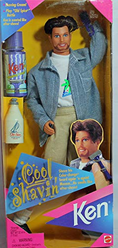 バービー バービー人形 ケン Ken 15469 Mattel Barbie Cool SHAVIN' Ken Doll w Color Change Beard (1996)バービー バービー人形 ケン Ken 15469