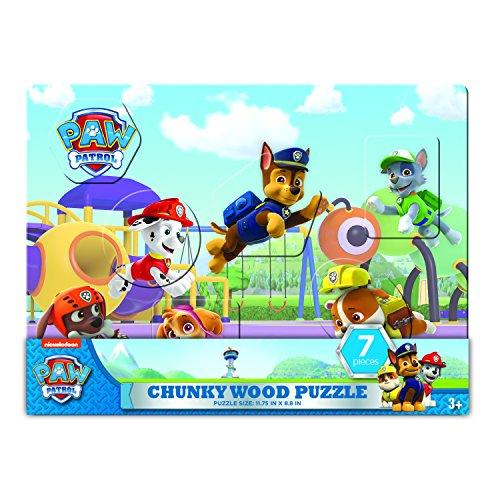 パウパトロール アメリカ直輸入 英語 バイリンガル育児 おもちゃ 31002 Paw Patrol Chunky Wood Puzzle (7Piece)パウパトロール アメリカ直輸入 英語 バイリンガル育児 おもちゃ 31002