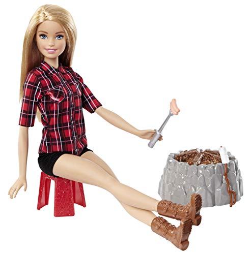 バービー バービー人形 日本未発売 FDB44 【送料無料】Barbie Sis Campfire Doll, Blondeバービー バービー人形 日本未発売 FDB44