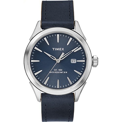 腕時計 タイメックス メンズ TW2P77400 【送料無料】Timex Men's TW2P77400AB City Collection Analog Display Quartz Blue Watch腕時計 タイメックス メンズ TW2P77400