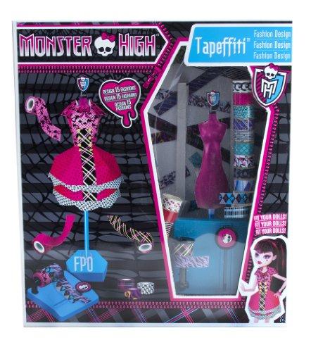 モンスターハイ 人形 ドール 871168MH Monster High Tapeffiti Fashion Design Dress Kitモンスターハイ 人形 ドール 871168MH