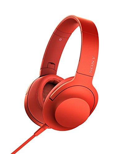 海外輸入ヘッドホン ヘッドフォン イヤホン 海外 輸入 MDR100AAP/R Sony hear on Premium Hi-Res Stereo Headphones (wired), Cinnabar Red海外輸入ヘッドホン ヘッドフォン イヤホン 海外 輸入 MDR100AAP/R