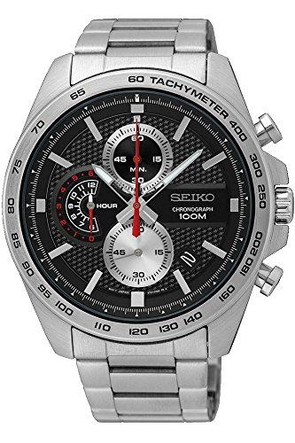 セイコー 腕時計 メンズ SSB255P1 【送料無料】Seiko Men's Chronograph Quartz Watch with Stainless Steel Strap SSB255P1セイコー 腕時計 メンズ SSB255P1