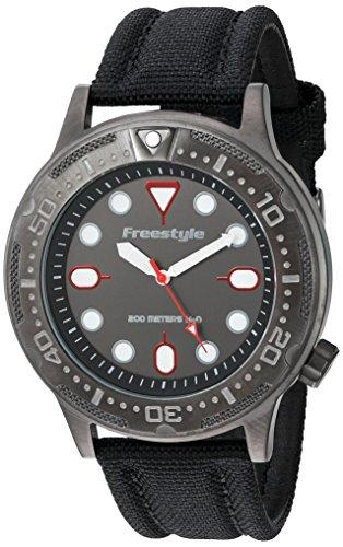 フリースタイル 腕時計 メンズ アウトドアウォッチ特集 10024401 Freestyle Ballistic Diver Black/Red Unisex Watch 10024401フリースタイル 腕時計 メンズ アウトドアウォッチ特集 10024401