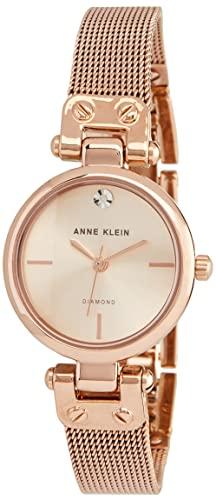 腕時計 アンクライン レディース AK/3002RGRG 【送料無料】Anne Klein Women's Quartz Metal and Stainless Steel Dress Watch, Color:Rose Gold-Toned腕時計 アンクライン レディース AK/3002RGRG