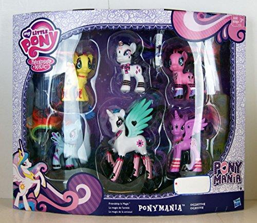 マイリトルポニー ハズブロ hasbro、おしゃれなポニー かわいいポニー ゆめかわいい A8778 My Little Pony Friendship Is Magic Pony Mania 6 Pack by Hasbroマイリトルポニー ハズブロ hasbro、おしゃれなポニー かわいいポニー ゆめかわいい A8778