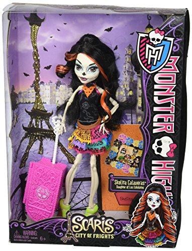 モンスターハイ 人形 ドール 【送料無料】Monster High Scaris City of Frights Skelita Calaverasモンスターハイ 人形 ドール