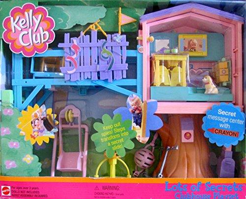 バービー バービー人形 チェルシー スキッパー ステイシー Barbie KELLY LOTS OF SECRETS CLUBHOUSE Playset CLUB HOUSE w MESSAGE CENTER & Crayon, & MORE! (2001)バービー バービー人形 チェルシー スキッパー ステイシー