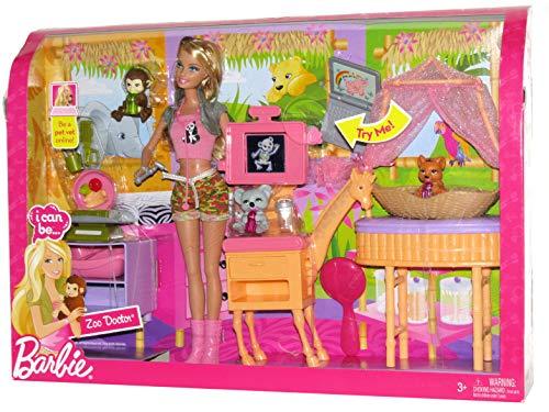 【限定価格セール!】 バービー バービー人形 バービーキャリア バービーアイキャンビー 職業 バービー人形 P9225 Zoo Barbie P9225 - I Can Be - Zoo Doctor Setバービー バービー人形 バービーキャリア バービーアイキャンビー 職業 P9225, 犬のご飯とケーキのドッグダイナー:d0e2438b --- canoncity.azurewebsites.net