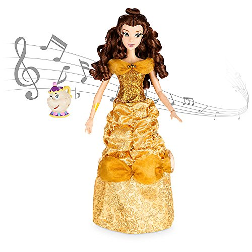 美女と野獣 ベル ビューティアンドザビースト ディズニープリンセス 460020966265 Disney Belle Deluxe Interactive Doll with Singing Mrs. Potts Figure - 16 Inch美女と野獣 ベル ビューティアンドザビースト ディズニープリンセス 460020966265