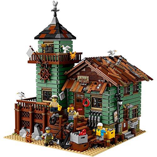 レゴ 6204049 LEGO Ideas Old Fishing Store (21310) - Building Toy and Popular Gift for Fans of LEGO Sets and The Outdoors (2049 Pieces)レゴ 6204049