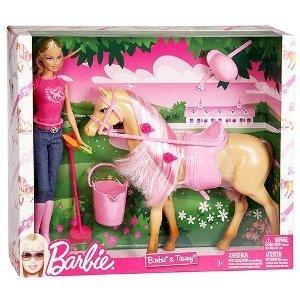 バービー バービー人形 日本未発売 プレイセット アクセサリ Barbie Doll & Tawny Horseバービー バービー人形 日本未発売 プレイセット アクセサリ