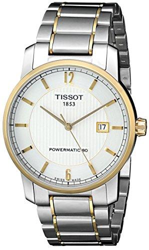 ティソ 腕時計 メンズ T0874075503700 Tissot Men's T0874075503700 T-Classic Analog Display Swiss Automatic Silver Watchティソ 腕時計 メンズ T0874075503700