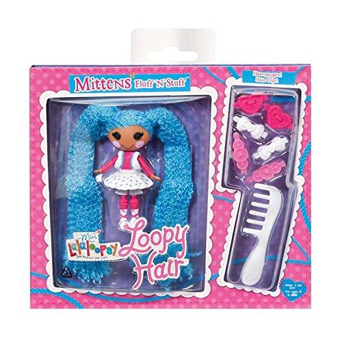 ララループシー 人形 ドール 522164M 【送料無料】Mini Lalaloopsy Loopy Hair Doll - Mittens Fluff 'N' Stuffララループシー 人形 ドール 522164M
