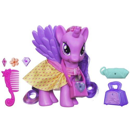 マイリトルポニー ハズブロ hasbro、おしゃれなポニー かわいいポニー ゆめかわいい A3653000 My Little Pony Fashion Style Princess Twilight Sparkle Dollマイリトルポニー ハズブロ hasbro、おしゃれなポニー かわいいポニー ゆめかわいい A3653000