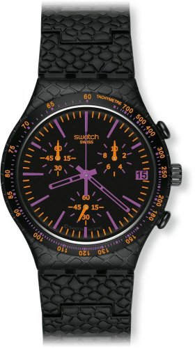 スウォッチ 腕時計 レディース YCB4015AG 【送料無料】Swatch Reptil Violet Ladies Watch YCB4015AGスウォッチ 腕時計 レディース YCB4015AG