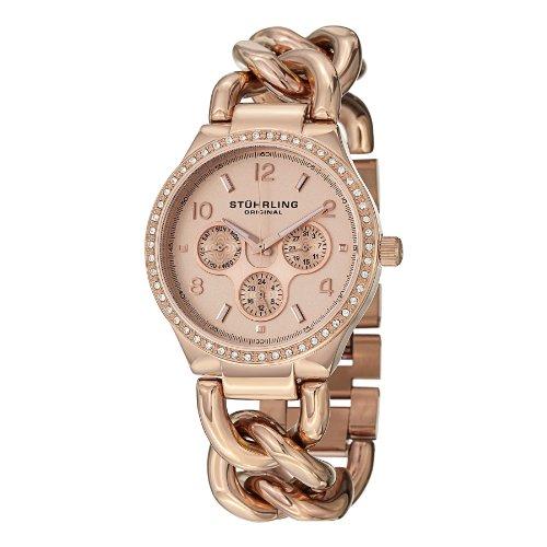 ストゥーリングオリジナル 腕時計 レディース GP14838 【送料無料】Stuhrling Original Women's Fashion Multifunction Crystals Encrusted Bangle Watchストゥーリングオリジナル 腕時計 レディース GP14838