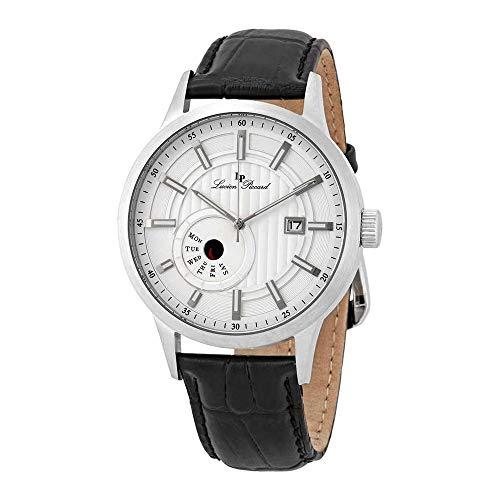 ルシアンピカール 腕時計 メンズ Lucien Piccard Epson Silver Dial Men's Watch 40063-02Sルシアンピカール 腕時計 メンズ