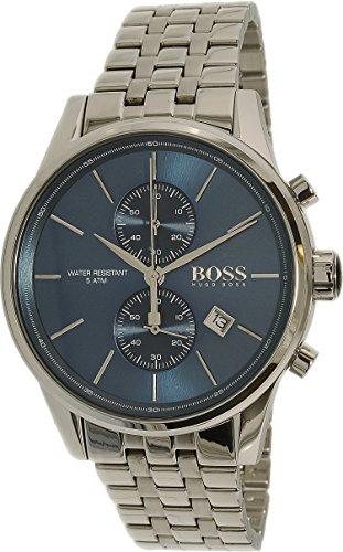 ヒューゴボス 高級腕時計 メンズ 1513384 Hugo Boss 1513384 Blue Dial Jet Mens Chronograph Watchヒューゴボス 高級腕時計 メンズ 1513384