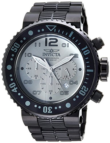インヴィクタ インビクタ プロダイバー 腕時計 メンズ 25079 Invicta Men's Pro Diver Quartz Diving Watch with Stainless-Steel Strap, Black, 29.3 (Model: 25079)インヴィクタ インビクタ プロダイバー 腕時計 メンズ 25079