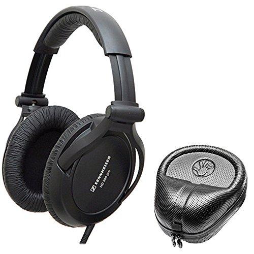 海外輸入ヘッドホン ヘッドフォン イヤホン 海外 輸入 HD 380 Pro Sennheiser HD 300 Pro Collapsible High-End Monitoring Headphone + SLAPPA SL-HP-07 HardBody PRO Headphone Case海外輸入ヘッドホン ヘッドフォン イヤホン 海外 輸入 HD 380 Pro