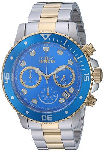 インヴィクタ インビクタ プロダイバー 腕時計 メンズ 21892 Invicta Men's Pro Diver Quartz Diving Watch with Stainless-Steel Strap, Two Tone, 9 (Model: 21892)インヴィクタ インビクタ プロダイバー 腕時計 メンズ 21892