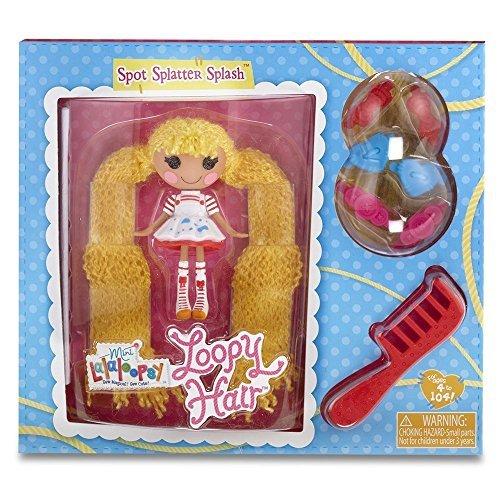ララループシー 人形 ドール Mini Lalaloopsy Loopy Hair Doll - Spot Splatter Splash by Lalaloopsyララループシー 人形 ドール