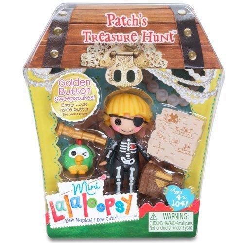 ララループシー 人形 ドール 5022296 Lalaloopsy Mini Patch's Treasure Hunt (Patch Treasurechest)ララループシー 人形 ドール 5022296