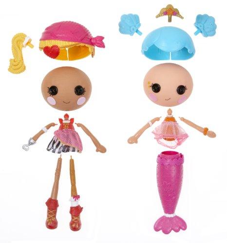 ララループシー 人形 ドール 527510 【送料無料】Lalaloopsy Workshop Mermaid/Pirate Doll (Double Pack)ララループシー 人形 ドール 527510
