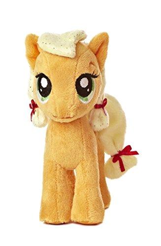 マイリトルポニー ハズブロ hasbro、おしゃれなポニー かわいいポニー ゆめかわいい 15533 【送料無料】Aurora World My Little Pony Applejack Pony Plush, 6.5