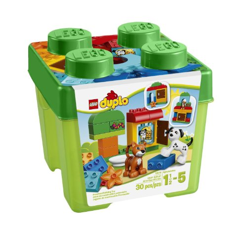 レゴ デュプロ LEGO DUPLO Creative Play 10570 All-in-One-Gift-Set For Your Kids Includes A Cat, Dog, Window Element And Selection Of LEGO DUPLO bricks Order Now! With E-book Gift@レゴ デュプロ