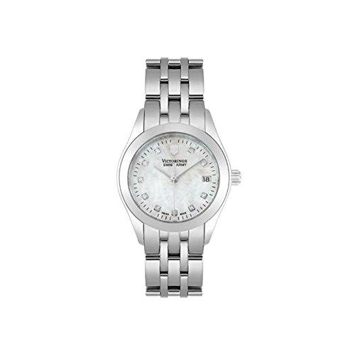 ビクトリノックス スイス 腕時計 レディース,ウィメンズ 24849 Victorinox Swiss Army Quartz, Stainless Steel Silver Band Mother of Pearl Dial - Women's Watch 24849ビクトリノックス スイス 腕時計 レディース,ウィメンズ 24849