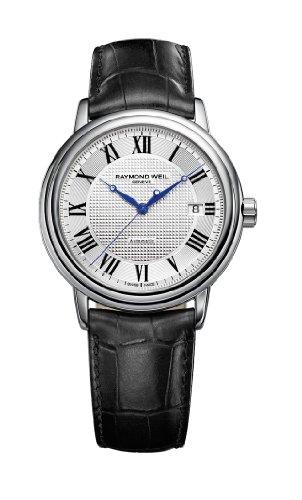 レイモンドウィル 腕時計 メンズ スイスの高級腕時計 2837-STC-00659 【送料無料】Raymond Weil Men's 2837-STC-00659 Maestro Silver Dial with Roman Numerals Watchレイモンドウィル 腕時計 メンズ スイスの高級腕時計 2837-STC-00659