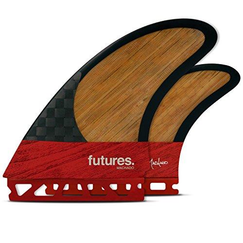 サーフィン フィン - マリンスポーツ Futures Thruster Fins - Machado Twin +1 - BLACKSTIX 3.0 Thruster - REDサーフィン フィン マリンスポーツ, ギャラリーモダーン:f270fbf3 --- sunward.msk.ru