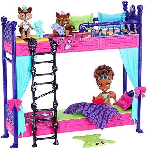 モンスターハイ 人形 ドール FND56 【送料無料】Monster High Monster Family Wolf Bunk Bed Playset and Dollsモンスターハイ 人形 ドール FND56