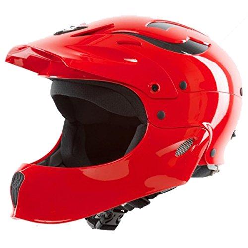 ウォーターヘルメット 安全 マリンスポーツ サーフィン ウェイクボード Sweet Protection Rocker Fullface Helmet: M/L - Scorch Redウォーターヘルメット 安全 マリンスポーツ サーフィン ウェイクボード