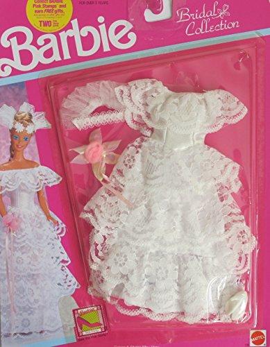 バービー バービー人形 着せ替え 衣装 ドレス BARBIE BRIDAL Collection WEDDING FASHIONS Outfit (1990 Arco Toys, Mattel)バービー バービー人形 着せ替え 衣装 ドレス