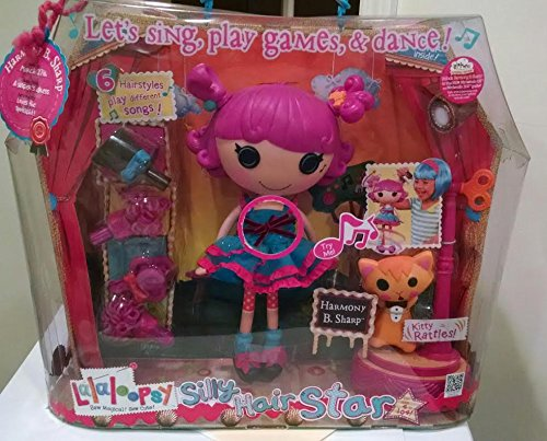 ララループシー 人形 ドール Lalaloopsy Harmony B. Sharp Silly Hair Star Doll Set toy gift idea birthdayララループシー 人形 ドール