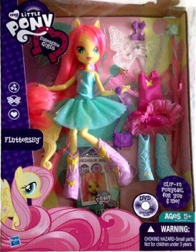 マイリトルポニー ハズブロ hasbro、おしゃれなポニー かわいいポニー ゆめかわいい My Little Pony Equestria Girl Deluxe Flutterfly Dollマイリトルポニー ハズブロ hasbro、おしゃれなポニー かわいいポニー ゆめかわいい